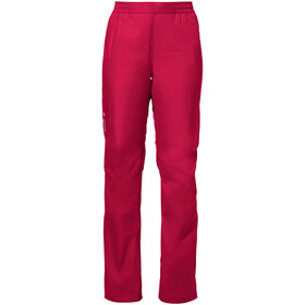 VAUDE Drop II Broek Dames, cranberry